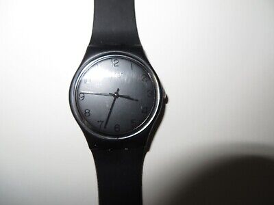 Vintage Swatch Blackout GB105 Watch