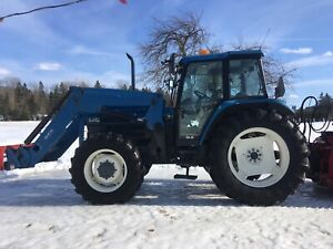 Tracteur New-Holland 8340 SLE