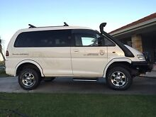 4X4 Mitsubishi Delica Van 1999 - Carries 7 or Converts to a Bed! Wollongbar Ballina Area Preview