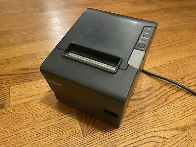 Epson Tm-t88v M244a Receipt Printer Idn Usb Interface Micros No Power Supply