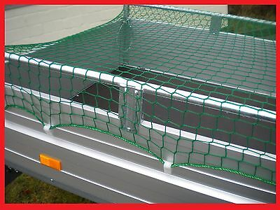 Anhängernetz Abdecknetz Container 2,2 x 1,2 m knotenlos 220x120cm