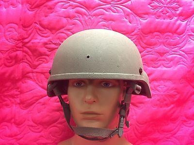 NEW MSA ACH SOF Ballistic Helmet W/helmet Pads & CHIN Strap Sz: Large NWOT