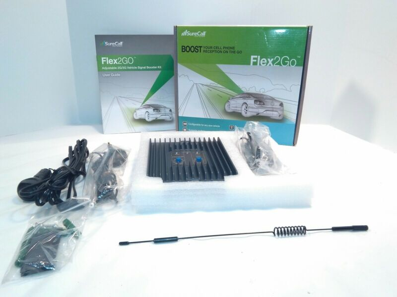SureCall Flex2Go Cell Phone Signal Booster Complete Kit