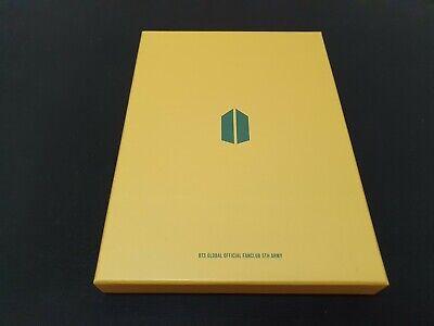 BTS BANGTANBOYS ARMY 5th Official MemberShip Kit Full package