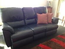 LEATHER LOUNGE SUITE Leopold Geelong City Preview