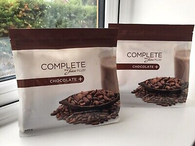 Brand New Sealed Juice Plus Chocolate Shakes 2 Pouches Dates From 04/2021