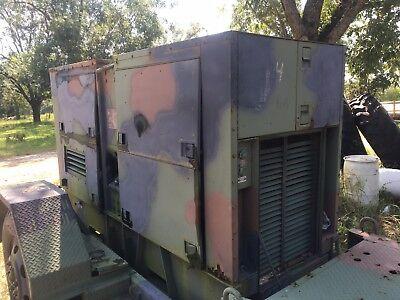 Mep-007b Trailer Mounted 100kw Generator 3 Phase 3306 Caterpillar Diesel 1700 Hr