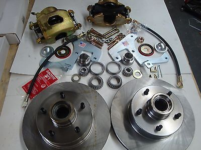 1949 1950 1951 1952 CHEVY WAGON/SEDAN DELIVERY FRONT DRUM TO DISC BRAKE (Sedan Delivery Wagon)