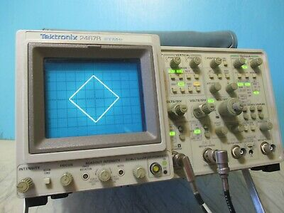 Tektronix 2467b 400mhz Oscilloscope  Calibrated Frequency Counter Option