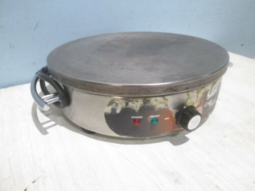"""""""WARING WSC 160"""" HEAVY DUTY COMMERCIAL 120V ELECTRIC COUNTER-TOP 16"""" CREPE MAKER"""