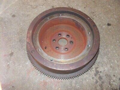 Ford 881 800 Tractor Gas Engine Motor Flywheel Good Starter Ring Gear