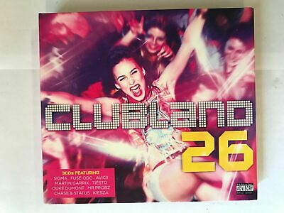 Clubland 26: CD's  Sigma/Fuse ODG/Avicii/Tiesto/Kiesza... NEW & unsealed CD77