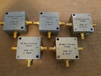 Mini-circuits Zfm-15 Frequency Mixer 10mhz-3ghz Smaf Lo If Rf Microwave