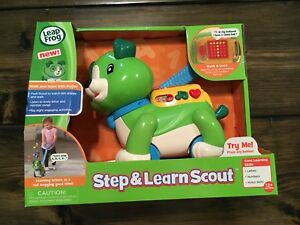 BRAND NEW Leapfrog Step & Learn Scout