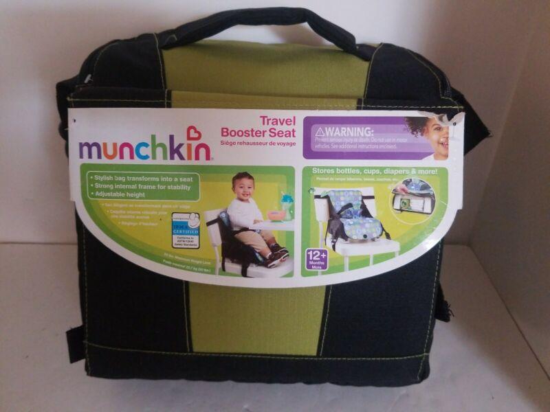 Munchkin Travel Booster Seat Green, Storage