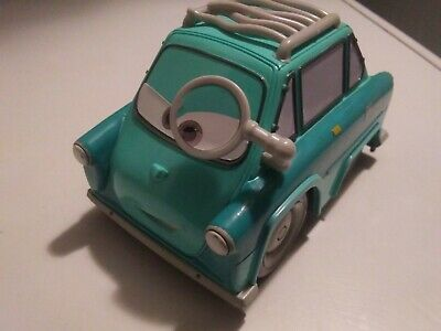 Mattel 2010 Disney Pixar Cars 2 Shake N Go Professor Z Fisher Price w/ Sound