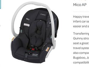 Maxi Cosi Mico Ap capsule car seat Medindie Walkerville Area Preview