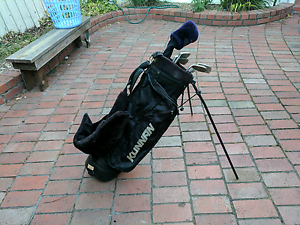 Golf clubs and bag Fitzroy North Yarra Area Preview
