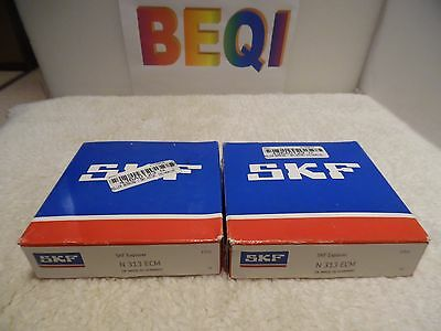 SKF Explorer N 313 ECM Cylindrical Roller  Bearing N313ECM NIB Lot of 2