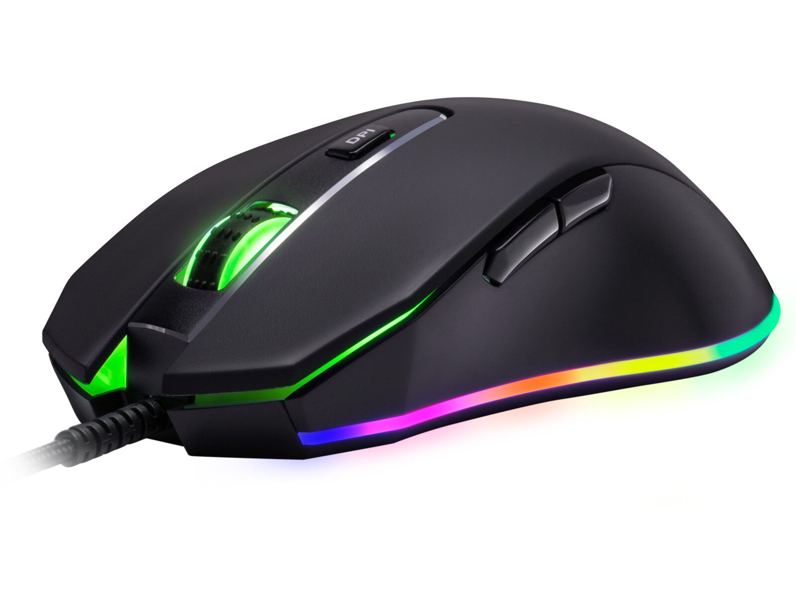Rosewill Gaming Mouse 10000 dpi, RGB Backlit Optical Wired G