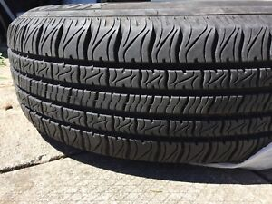 4 summer tires with rim & covers 215/70/15 - 215/65/16