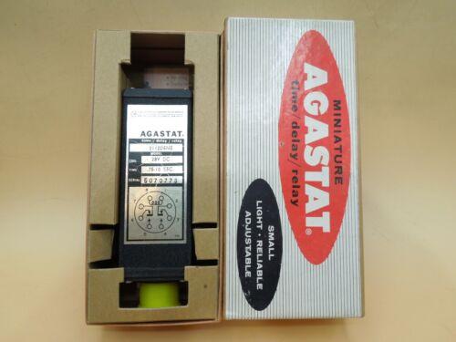 Agastat 2112-D-5 Time Delay Relay .75 - 10 sec 28v-dc (Qty 1)