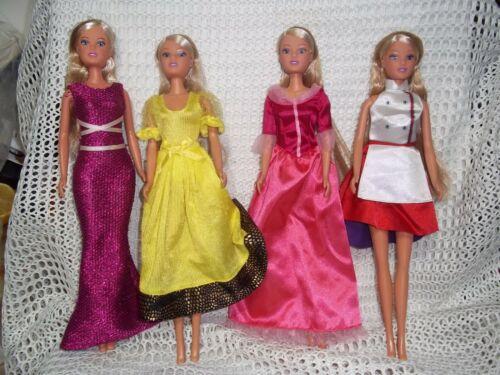 Steffi Love LOT of 4 dolls  No1