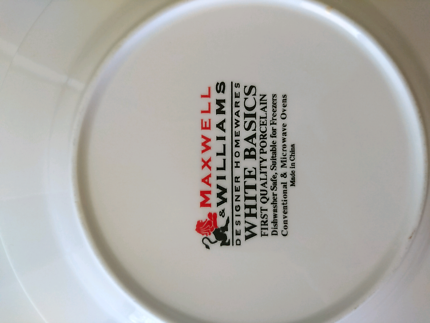Maxwell Williams porcelain plates & Maxwell and Williams SPRINKLE | Dinnerware | Gumtree Australia ...