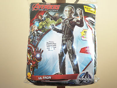 Marvel Avengers Age Of Ultron Halloween Costume Size 12-14 Muscle Chest **NEW** - Halloween Costumes Age 12