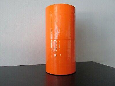 14000 Fl Orange Labels For The Monarch 1136 1 Sleeve One Ink Roller.