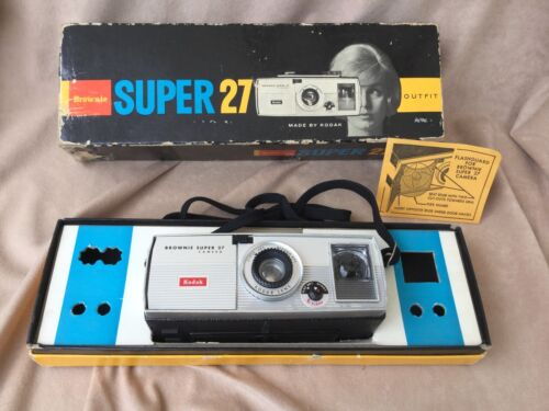 Kodak Brownie Super 27 Camera With Box
