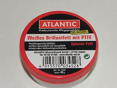 ATLANTIC Weisses Brillantfett mit PTFE 40 g Dos.High-Tech-Fett Nabenfett 08008  ()