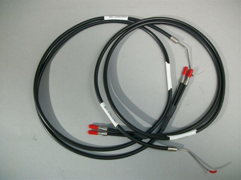 "Lot of 4 MTI Fiber Optic Illuminator Laser 470424002 Light Guide 45"" Cable -New"
