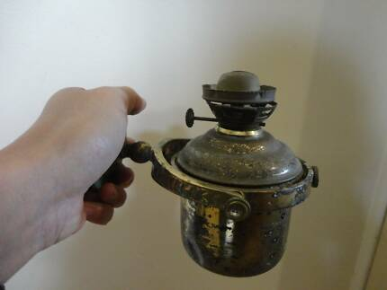 Antique/vintage ships oil lamp - can post