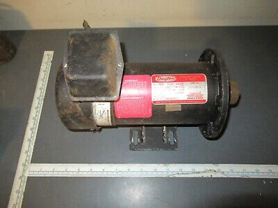 Dayton Electric Motor 12 Hp 1725 Rpm 90 Volt Dc 2m168c
