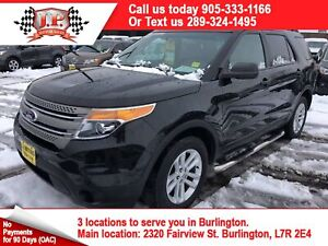 2015 Ford Explorer Automatic, 3rd Row Seating, Power Group, 4x4
