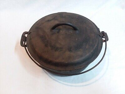 Vintage GRISWOLD No. 9 Tite-Top Baster Dutch Oven With Lid