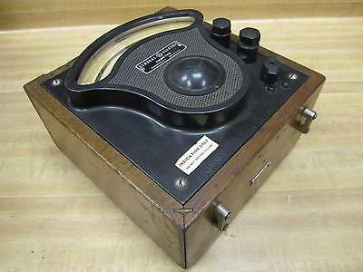 General Electric 3613090 Vintage Industrial Amp Meter Wo Lid Antique