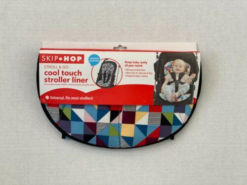 Skip Hop Stroll & Go Cool Touch Polyurethane Foam Stroller Liner, Multicolor,NWT