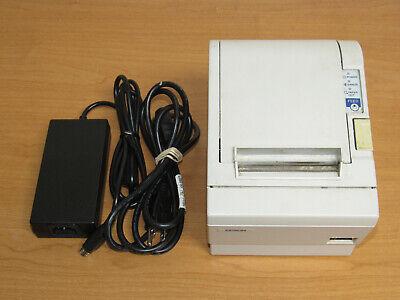 Epson Tm-t88ii Point Of Sale Pos Thermal Receipt Printer - Serial - White