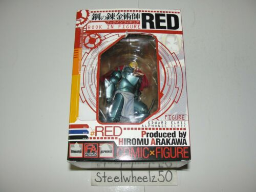 Fullmetal Alchemist Book In Figure Red 2005 Comic Edward & Alphonse Elric RARE
