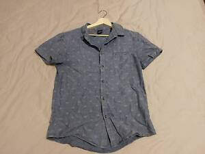 Riders by Lee Short Sleeve Shirt Blue - Size S Watsonia Banyule Area Preview