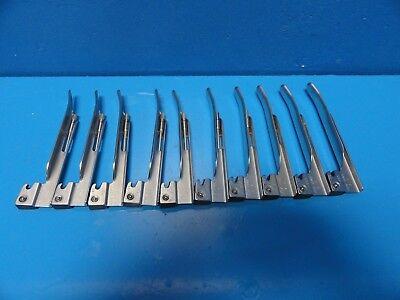10 X Welch Allyn 68042 Miller Mil 2 Laryngoscope Blades 13968