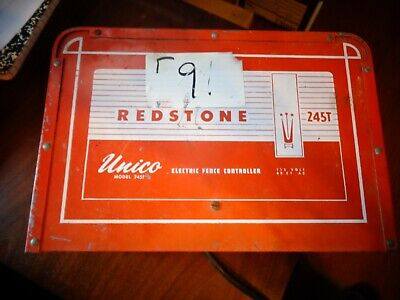 Redstone Unico Electric Fence Controller Fencer Cattle Sheep Goats Livestock