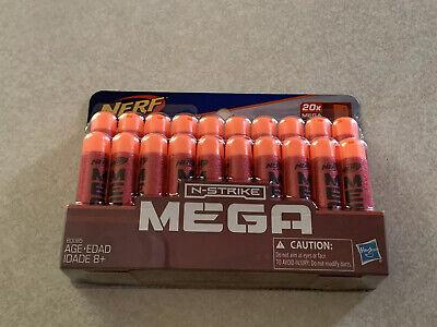 Nerf B0085 Official N-Strike Mega Dart Refill Pack Of 20 New