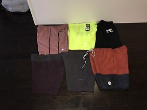 Various men's clothing items  prices listed OBO