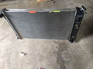 Chevy  radiator . New used very lil