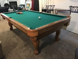 Connelly pool table