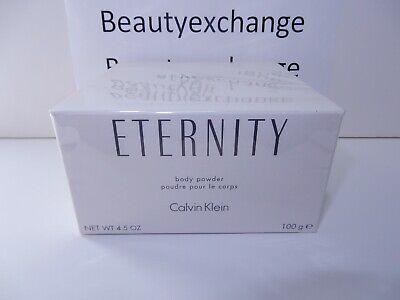 Eternity Calvin Klein Perfume Dusting Body Powder 4.5 oz Sealed Box Calvin Klein Body Perfume