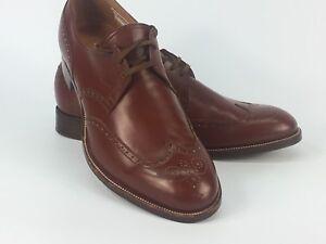 Hand made imported men's dress shoes England Crocket Jones